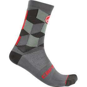 Castelli Unlimited 15 Calcetines, forest gray